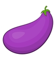 Eggplant fruit icon cartoon style vector image
