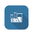 laboratory and medical services icon flat design vector image vector image