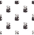 pandaanimals single icon in cartoon style vector image vector image