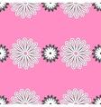 Pink Floral Pattern vector image vector image