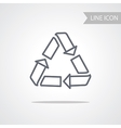 Recycle Icon Conceptual Symbol vector image