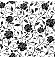 Seamless pattern poppies vector image vector image