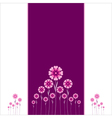 Valentin card or background vector image vector image
