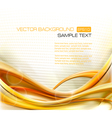 Abstract Elegant Gold Background vector image vector image