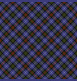 blue black red and white tartan plaid seamless vector image vector image