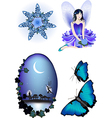 Enchanted Collection vector image vector image