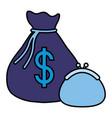 money purse design vector image