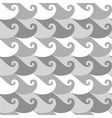 Seamless pattern Wave vector image vector image