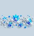 shine stars bright vector image