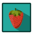 symbol strawberry icon image vector image vector image