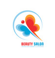 beauty salon - logo template creative