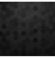 Carbon metallic pattern background texture vector image vector image
