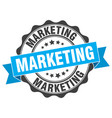 marketing stamp sign seal vector image vector image
