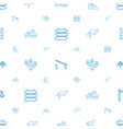 road icons pattern seamless white background vector image vector image