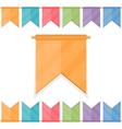 Festive Flags vector image
