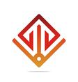 element arrow color design symbol icon vector image