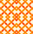 abstract seamless pattern in orange colors made of vector image vector image