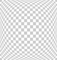abstract square tile perspective fish eye vector image vector image