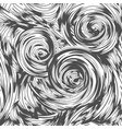 abstract swirl seamless pattern vector image vector image