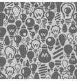 Background a bulb vector image vector image