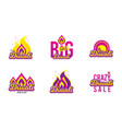 diwali festival banner big sale hindu festival vector image