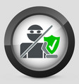 internet saferguard vector image