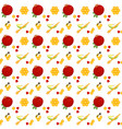 pomegranates apples honeycomb seamless pattern vector image