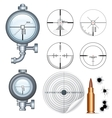 Sniper Scope Target Crosshair Clip Art vector image