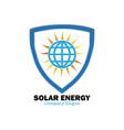 solar energy for alternative energy vector image