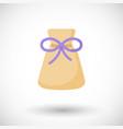 aromatherapy sachet or bag flat icon vector image