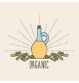 background organic icon vector image