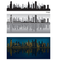 Chicago skyline vector | Price: 3 Credits (USD $3)