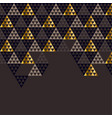 geometry gold header vector image vector image