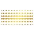 handshake golden halftone matrix vector image