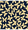 romantic seamless pattern flying butterflies vector image vector image