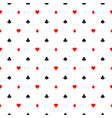 seamless pattern background of poker suits - vector image vector image