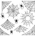 spider web halloween symbol cobweb decoration vector image