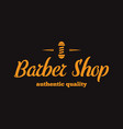 Vintage barber shop logo labels badges and