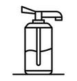 aloe vera dispenser icon outline style vector image vector image