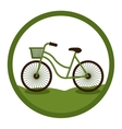 Bike of Healthy lifestyle design vector image