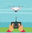 drone technology design eps10 graphic vector image vector image