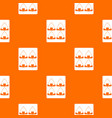 sushi pattern seamless vector image vector image