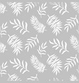 Tropical leaves seamless pattern nature foliage