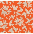 Bright leaves pattern vector image vector image