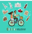 Couple on a Cycling Vacation