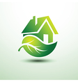 Green house4 vector image