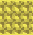 low poly yellow pattern seamless background vector image