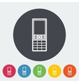 Phone single icon vector image