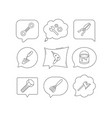 spanner repair tool spatula and bolt icons vector image
