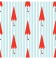 autumn seamless pattern with umbrella vector image